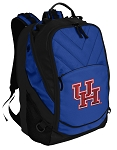 University of Houston Deluxe Computer Backpack Blue