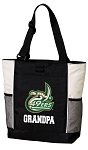 UNC Charlotte Grandpa Tote Bag White Accents