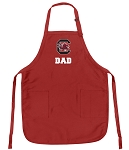 University of South Carolina Dad Aprons Red