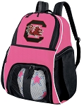 Girls University of South Carolina Soccer Backpack or South Carolina Gamecocks Volleyball Bag
