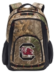 South Carolina RealTree Camo Backpack