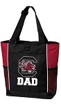 University of South Carolina Dad Tote Bag Red