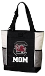 University of South Carolina Mom Tote Bag White Accents