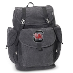 South Carolina Gamecocks LARGE Canvas Backpack Black