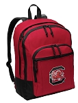 South Carolina Gamecocks Backpack CLASSIC STYLE Red