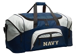 Large Naval Academy Duffle USNA Navy Duffel Bags