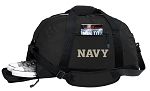 Naval Academy Duffel Bag - USNA Navy GYM BAG with Shoe Pocket
