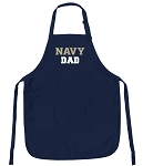 Official Naval Academy DAD Aprons Navy