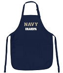 Official Naval Academy Grandpa Aprons Navy