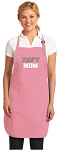 Deluxe Naval Academy MOM Apron Pink - MADE in the USA!