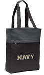 Naval Academy Tote Bag Everyday Carryall Black