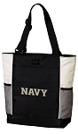 Naval Academy Tote Bag White Accents