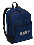 USNA Navy Backpack CLASSIC STYLE Navy