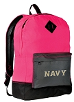 USNA Navy Backpack HI VISIBILITY Naval Academy CLASSIC STYLE For Her Girls Women