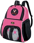 Girls University of Virginia Soccer Backpack or UVA Volleyball Bag
