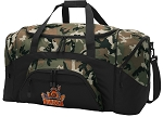 Official UVA Peace Frog Camo Duffel Bags