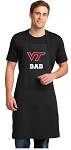 Virginia Tech Dad Large Apron