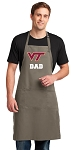 Virginia Tech Dad Large Apron Khaki