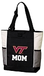 Virginia Tech Mom Tote Bag White Accents