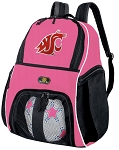 Girls Washington State University Soccer Backpack or Washington State Volleyball Bag