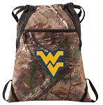 West Virginia RealTree Camo Cinch Pack