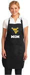 Official West Virginia University Mom Apron Black