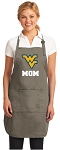 Official WVU Mom Apron Tan