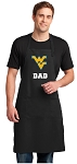 West Virginia University Dad Large Apron