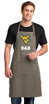West Virginia University Dad Large Apron Khaki
