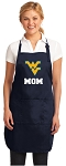 Official West Virginia University Mom Aprons Navy