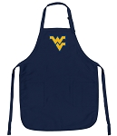 Official West Virginia University Aprons Navy