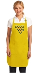 Deluxe West Virginia University Apron - MADE in the USA!
