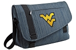 West Virginia Messenger Laptop Bag Stylish Navy