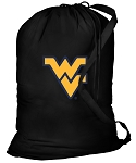 West Virginia University Laundry Bag Black