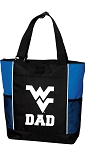 West Virginia University Dad Tote Bag Roy