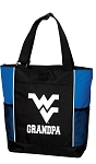 West Virginia University Grandpa Tote Bag Roy