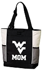 West Virginia University Grandpa Tote Bag White Accents