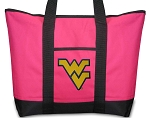 Deluxe Pink West Virginia University Tote Bag