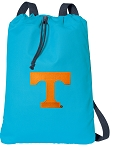 Tennessee Vols Cotton Drawstring Bag Backpacks Blue
