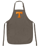 Official Tennessee Vols Logo Apron Tan