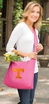 University of Tennessee Tote Bag Sling Style Pink