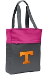 Tennessee Vols Tote Bag Everyday Carryall Pink