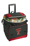 Texas Tech Rolling Cooler Bag Red