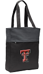 Texas Tech Tote Bag Everyday Carryall Black