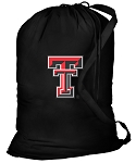 Texas Tech Laundry Bag Black