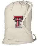 Texas Tech Laundry Bag Natural