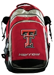 Texas Tech Harrow Field Hockey Backpack Bag Red