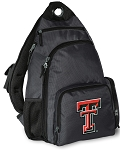 Texas Tech Backpack Cross Body Style Gray