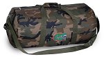 University of Florida Camo Duffel Bags