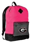 Georgia Bulldogs Backpack HI VISIBILITY University of Georgia CLASSIC STYLE For Her Girls Women
